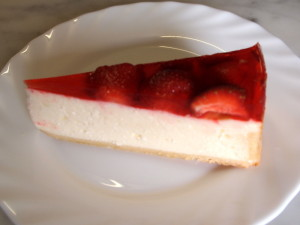 Cheesecake  s ovocem  39,-
